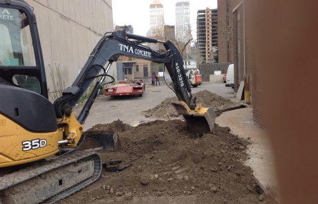 excavation upgrade